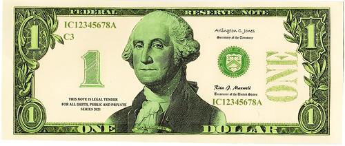Pearson $1 face