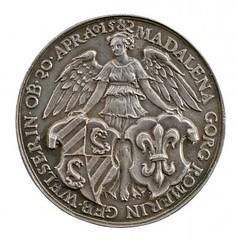MAGDALENA WELZER ROEMERIN medal reverse
