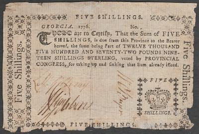 William McGillivray, William Gibbons & William colonial note O'Bryen