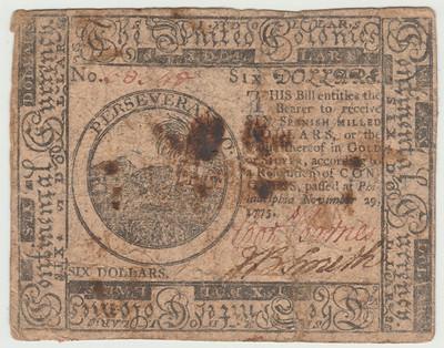 Cornelius Barnes colonial note
