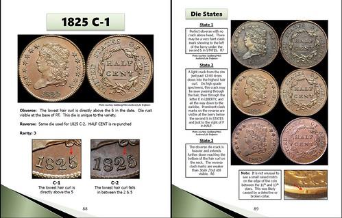 Half Cent Handbook - Classic Head sample pages