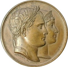 Napoleon and Marie-Louise medal Bramsen-952