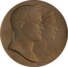 Napoleon and Marie-Louise medal Bramsen-952 image