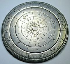 Perpetual Calendar Coin obverse