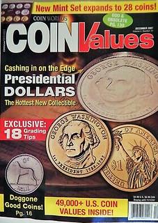 Coin-Values-Magazine-Dec-2007-Presidential-Dollars-Dog