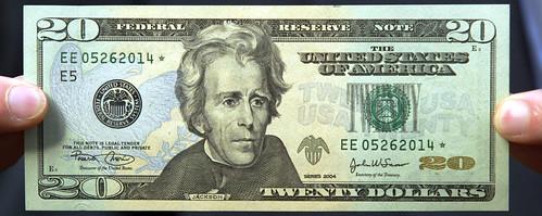 $20 bill