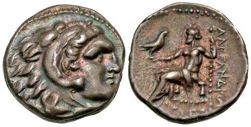 Alexander III the Great Drachm