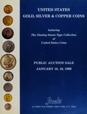 Stacks Stanley Simon catalog cover