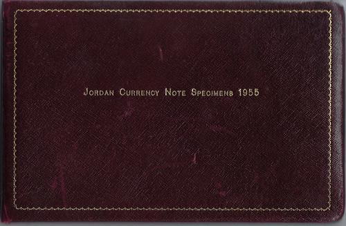 WBNA Raqmu Sale Lot 17040 Jordan 1949 Thomas de la Rue Specimen Book