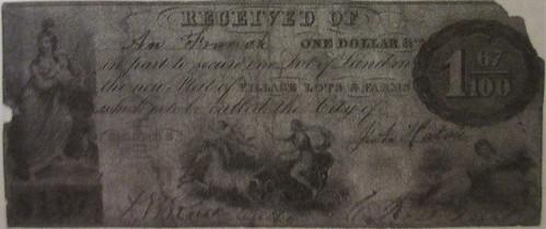 Michigan $1.67 note