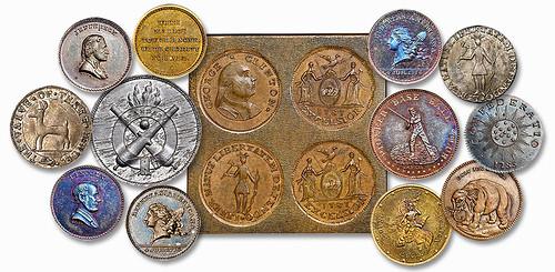 John Adams Bolen Medal Sale