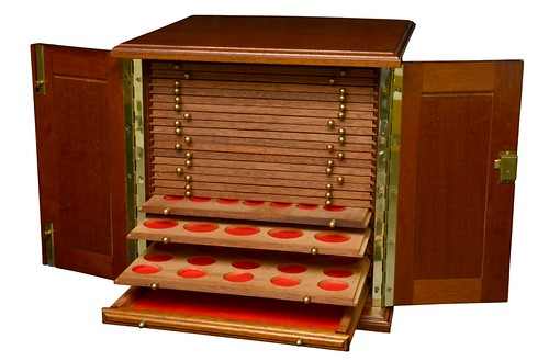 coin cabinet by St Leonards