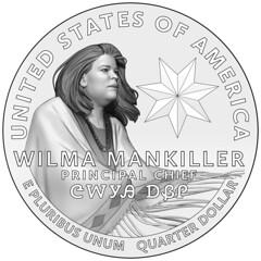 2022-american-women-quarters-coin-wilma-mankiller-line-art-reverse