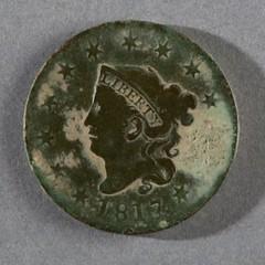 1817 Cent found in Williamsburg