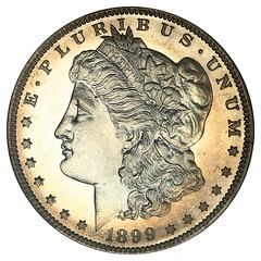 1899 Proof Morgan Dollar obverse