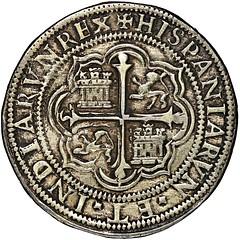 Mexico City cob 8 reales Royal reverse