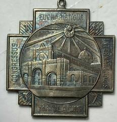 H-284b 1937 Eucharistic Silver F