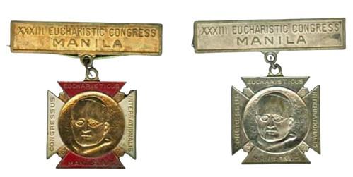 H-284-1 1937 Eucharistic medsal