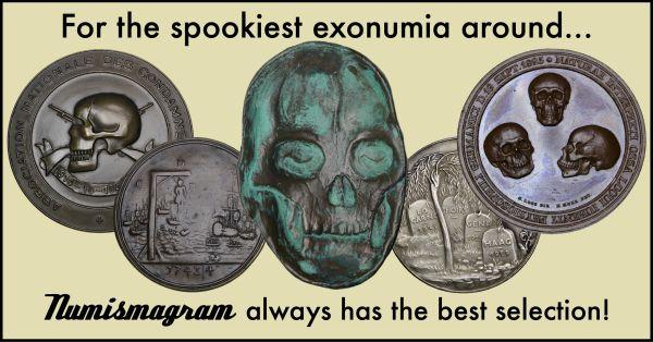 E-Sylum Numismagram ad48 Spookiest