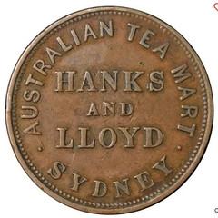 Australian Tea Mart Token obverse