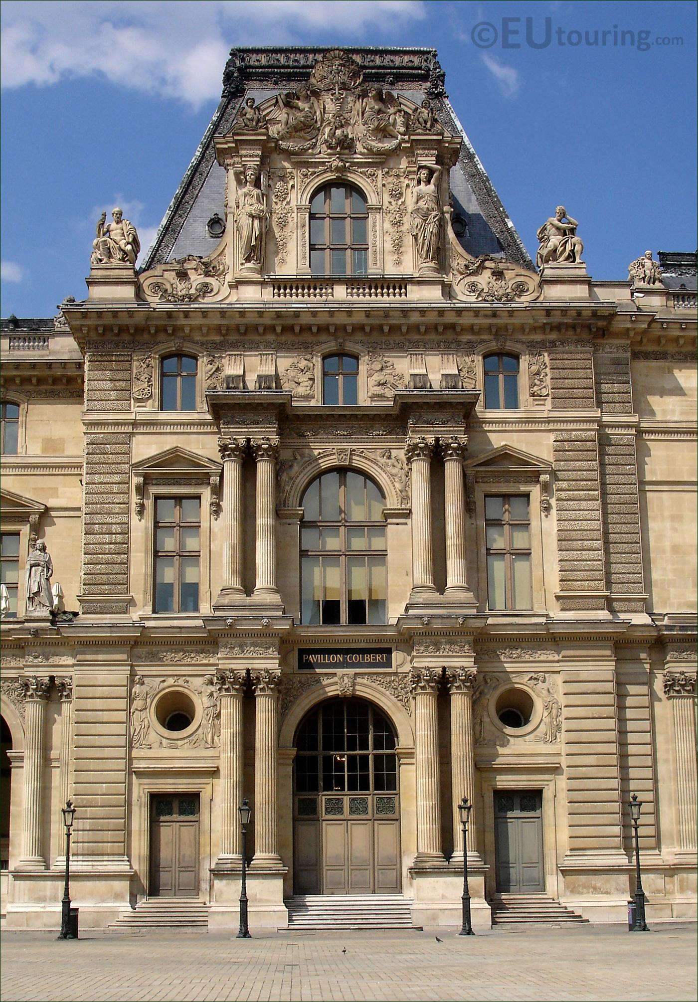 Pavillon Colbert at the Louvre