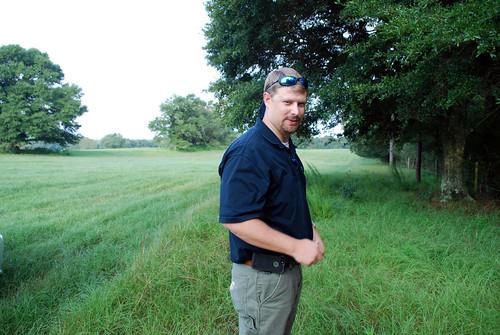 NRCS Soil Conservationist Bradley Williams