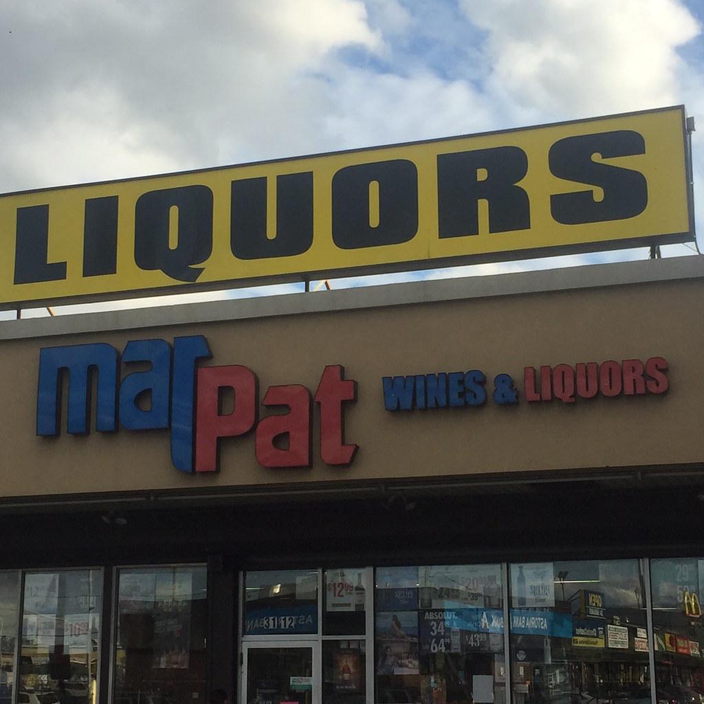 Pathmark Liquors Not Quite Ran Across This Marpat Liquor Flickr