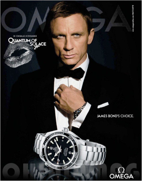Omega casino royale movie poster