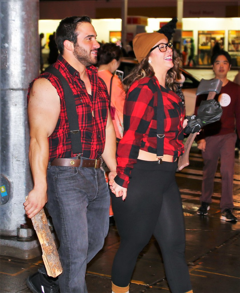 Straight Lumberjacks | by sea turtle Straight Lumberjacks | by sea turtle  sc 1 st  Flickr & Straight Lumberjacks | Halloween Capitol Hill Seattle. | sea ...