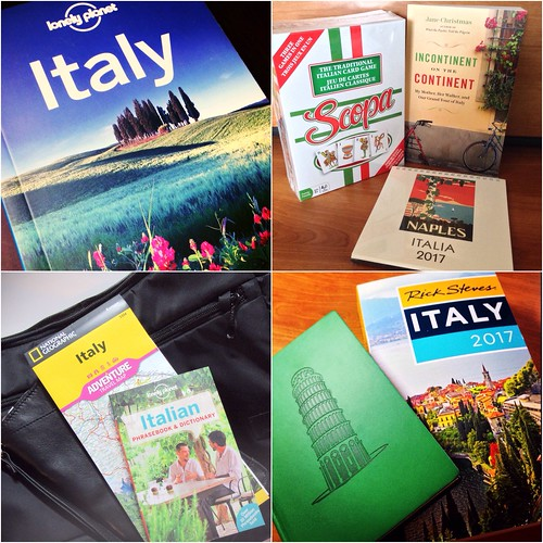 Italy 2017 trip prep