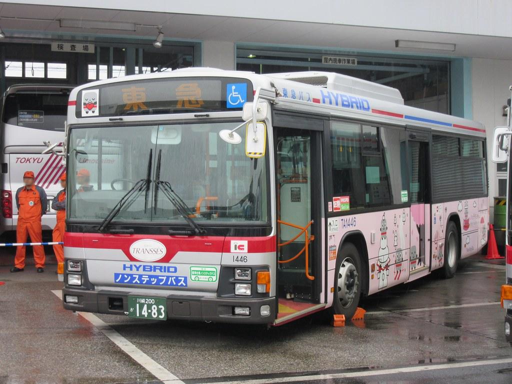 東急バス | 新羽営業所にて ノッ...
