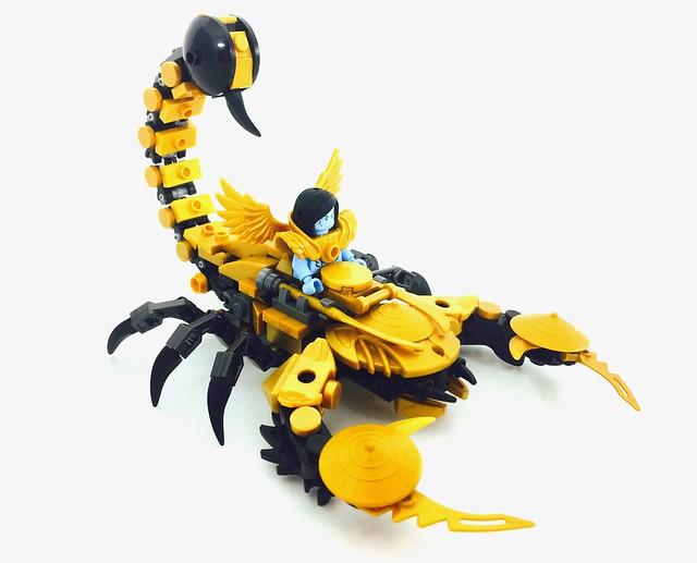 Golden Empress Scorpion