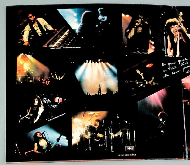 "VANADIUM ON STREETS OF DANGER LIVE FOC 12"" VINYL LP"