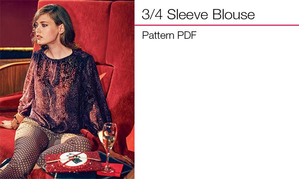 34 Sleeve Blouse