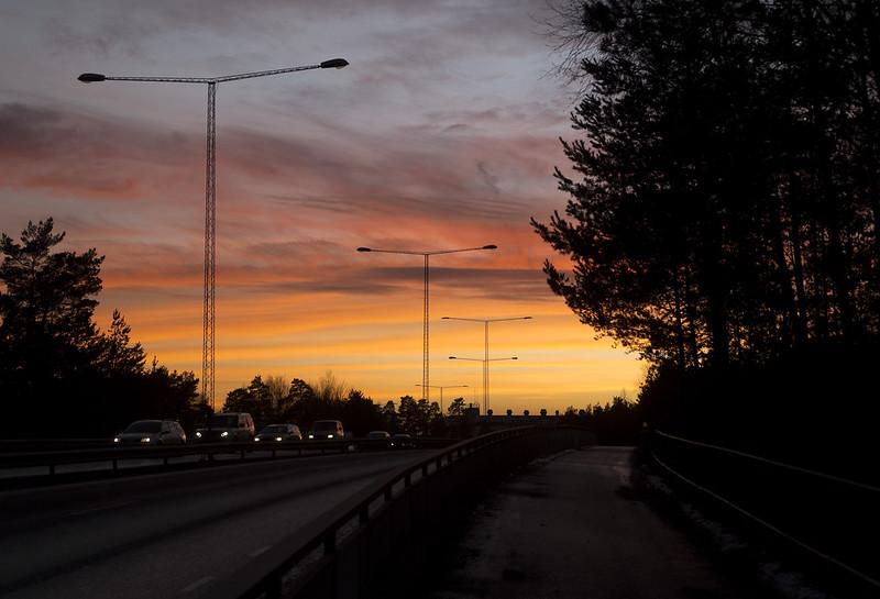 A colorful sky