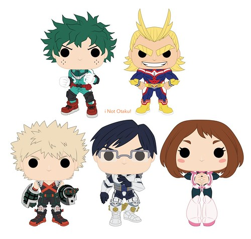 POP FUNKO MY HERO ACADEMIA