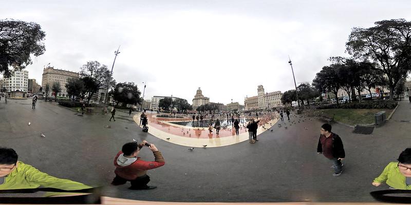 [키미션360] 바르셀로나 까탈루냐 광장