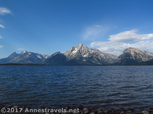 One last view of the Tetons from the Lakeshore Trail, Grand Teton National Park, Wyoming