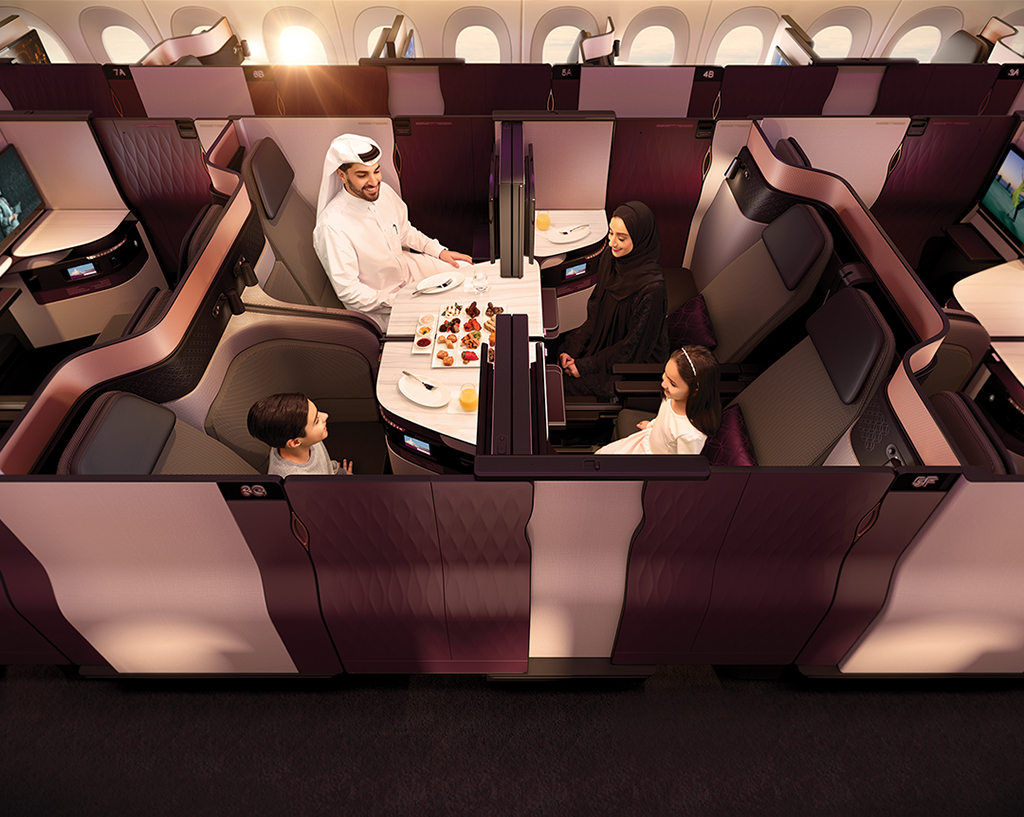 QATAR AIRWAYS UNVEILS 'QSUITE' – A REVOLUTIONARY NEW  'FIRST IN BUSINESS CLASS' EXPERIENCE