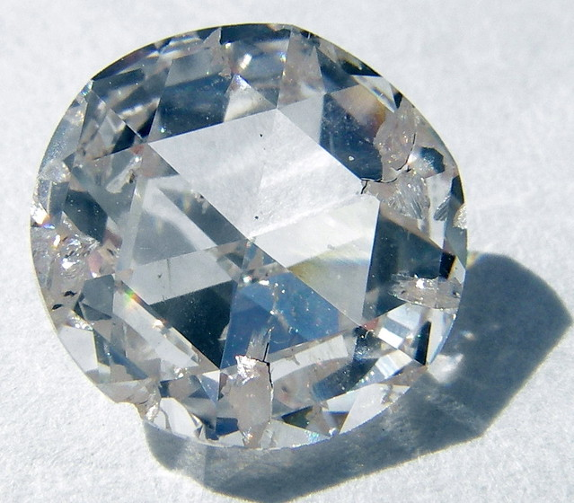 Diamond with defects