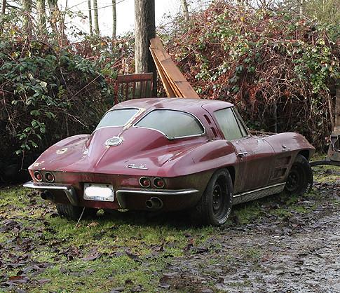 1963 Corvette Stingray Sad Find 1963 Corvette Stingray