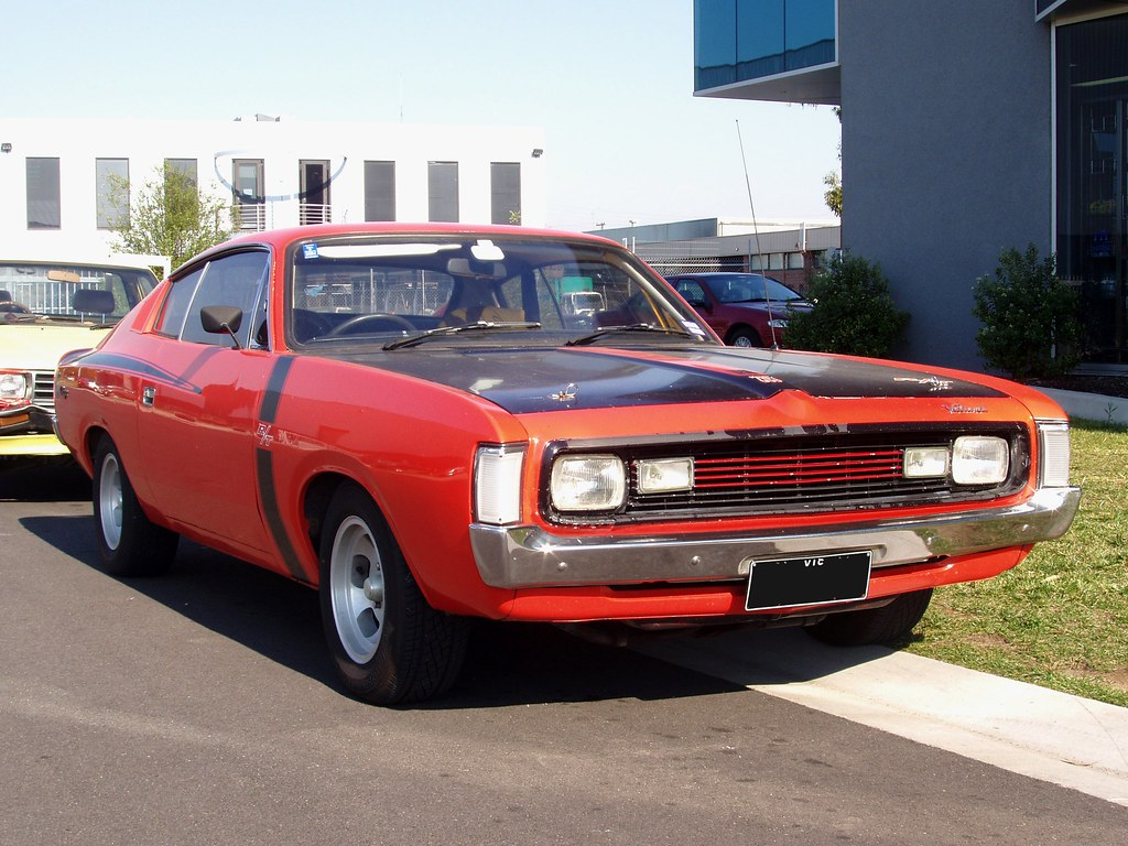 Valiant Vh Charger R T Six Pack One Of The Classic