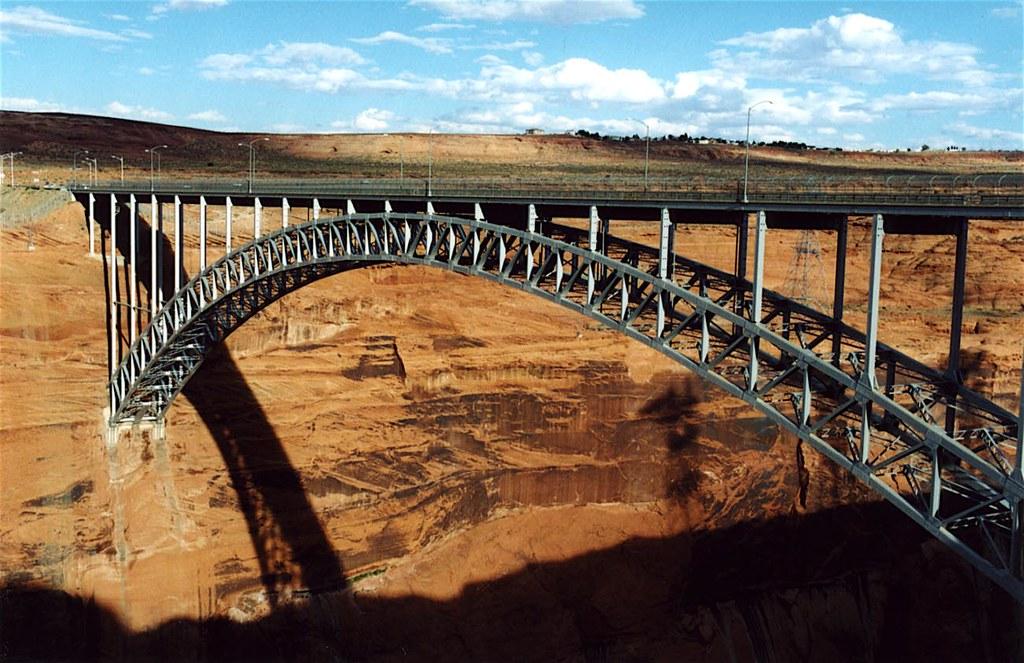 Glen Canyon Bridge Page Arizona Bridgepixing The Glen