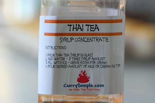 thai tea syrup | by chockylit