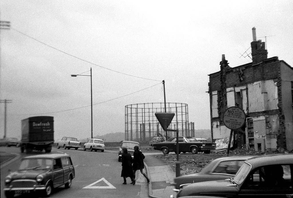 Barrow Road Bristol 1970 Barrow Road Seen From Its