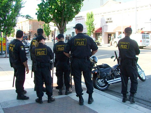 California Department Of Justice Police San Benito Street