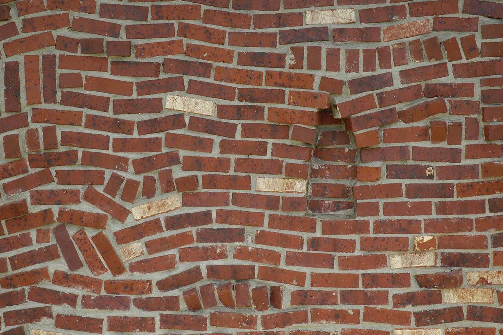 Arcx009 drunkards path brick veneer a brick mason 39 s for Modern brick veneer