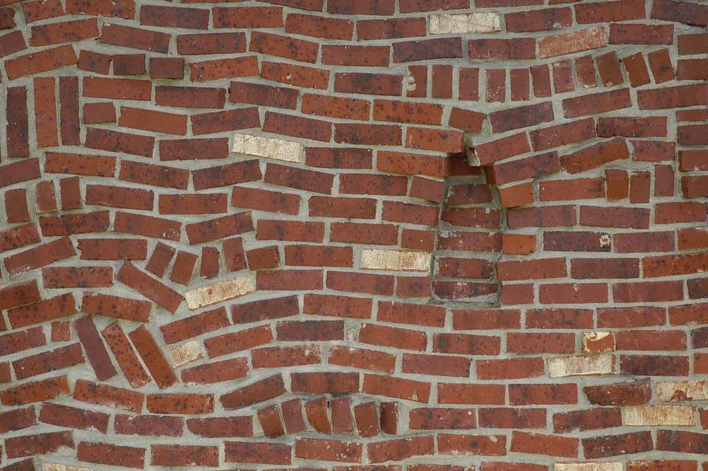 Arcx009 drunkards path brick veneer a brick mason 39 s for What is brick veneer house