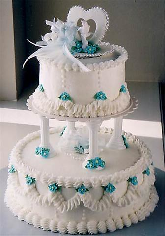 Decorating A Wedding Cake With Fondant