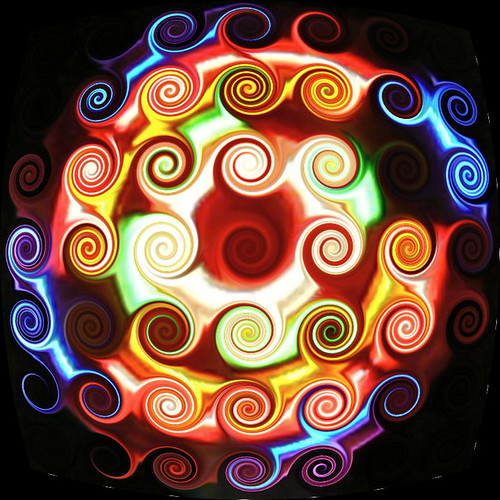 swirly colorful thingy | by Lollie Dot Com